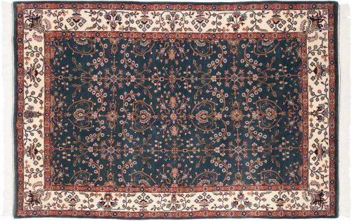 6×9 Sarouk Teal Oriental Rug 031021