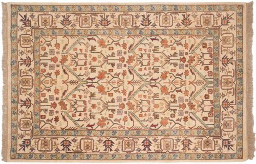 6×9 Serapi Ivory Oriental Rug 031584