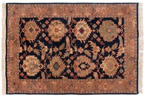 6×9 Sultanabad Blue Oriental Rug 031342