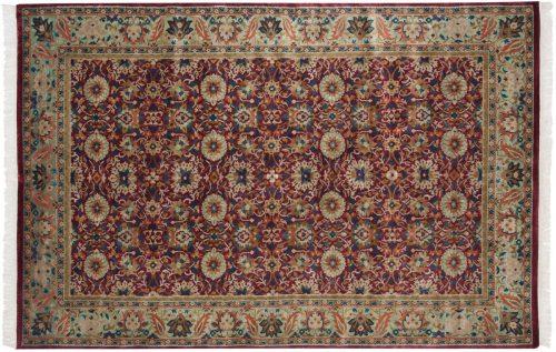 6×9 Sultanabad Burgundy Oriental Rug 037672