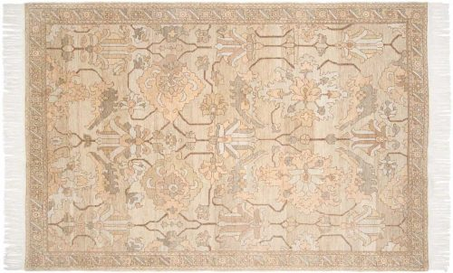 6×9 Sultanabad Gold Oriental Rug 020291