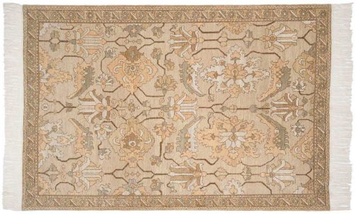 6×9 Sultanabad Gold Oriental Rug 020376