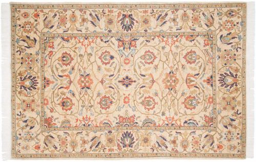 6×9 Sultanabad Gold Oriental Rug 020471