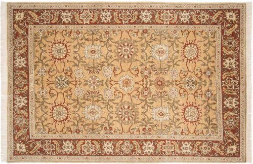 6×9 Sultanabad Gold Oriental Rug 021040
