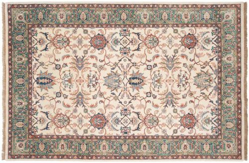 6×9 Sultanabad Ivory Oriental Rug 031960