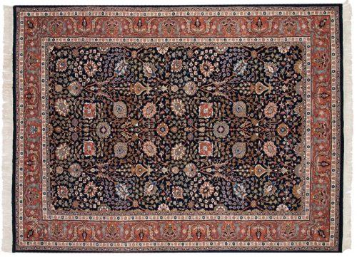 6×9 Tabriz Blue Oriental Rug 015933