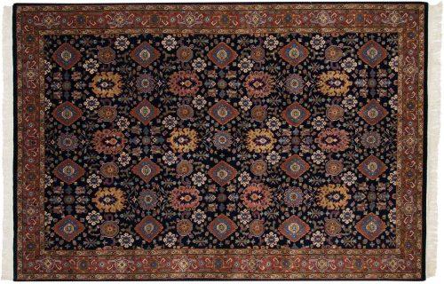 6×9 Tabriz Blue Oriental Rug 037575