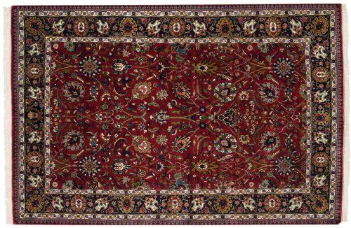 6×9 Tabriz Burgundy Oriental Rug 017102