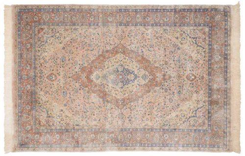 6×9 Kashan Peach Oriental Rug 017001
