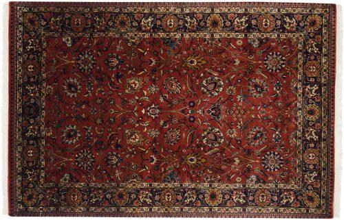6×9 Tabriz Rust Oriental Rug 017119