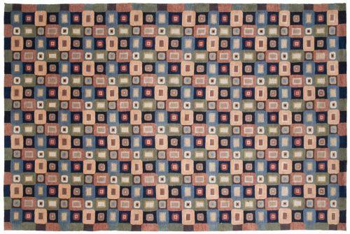 6×9 Tibetan Multi Color Oriental Rug 041728