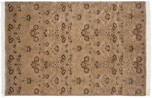 6×9 William Morris Beige Oriental Rug 038072