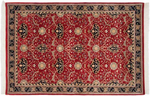 6×9 William Morris Red Oriental Rug 036648
