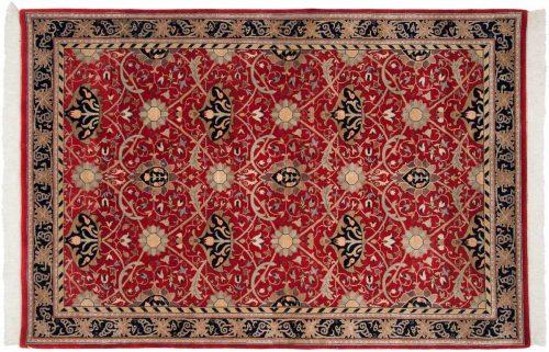 6×9 William Morris Red Oriental Rug 036648