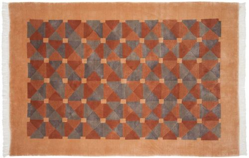 6×9 Geometric Multi Color Oriental Rug 037024