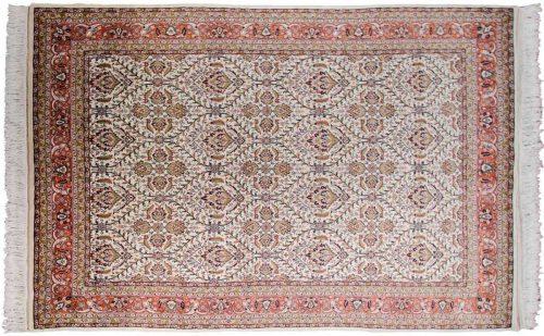 6×9 Yezd Ivory Oriental Rug 033497