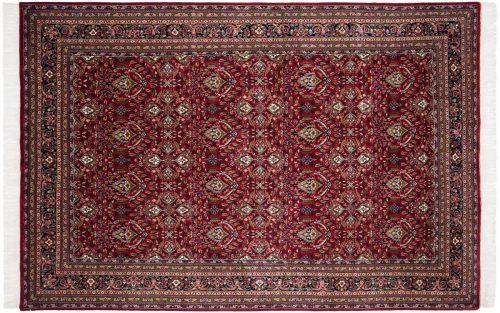6×9 Yezd Red Oriental Rug 034493