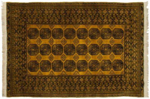 7×10 Daulatabad Gold Oriental Rug 011577