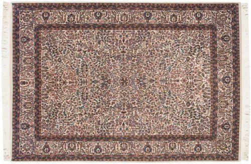 7×10 Tabriz Ivory Oriental Rug 031656
