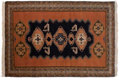7×11 Persian Ardebil Blue Oriental Rug 035470