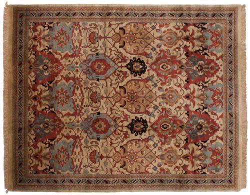 8×10 Agra Beige Oriental Rug 038314