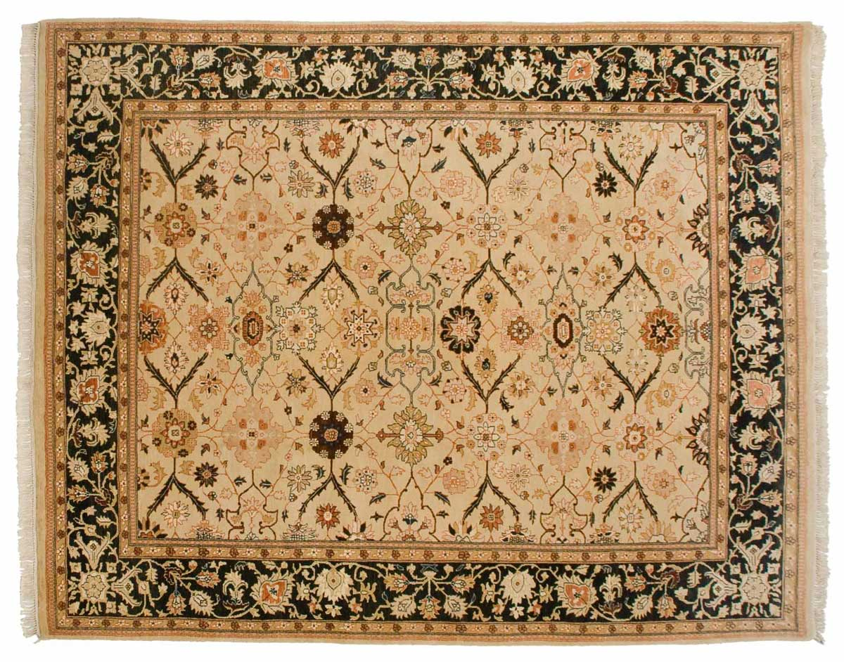 8 10 Agra Gold Oriental Rug 022384 Carpets By Dilmaghani