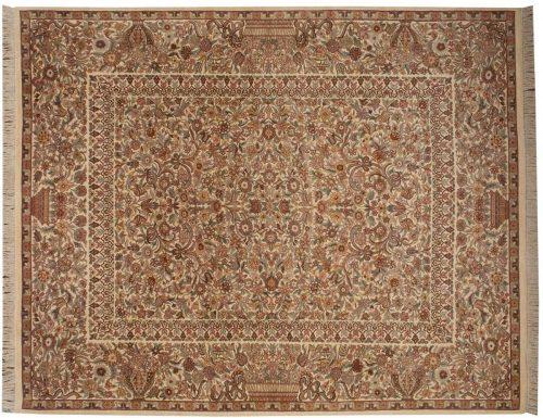 8×10 Aubusson Ivory Oriental Rug 026037
