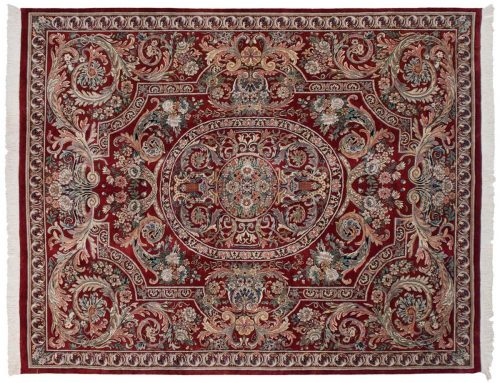 8×10 Aubusson Red Oriental Rug 025827