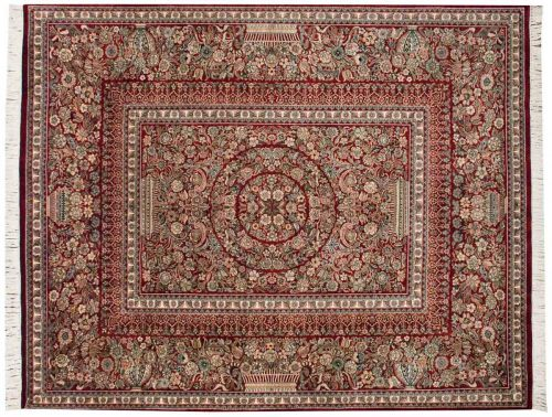 8×10 Aubusson Red Oriental Rug 025828
