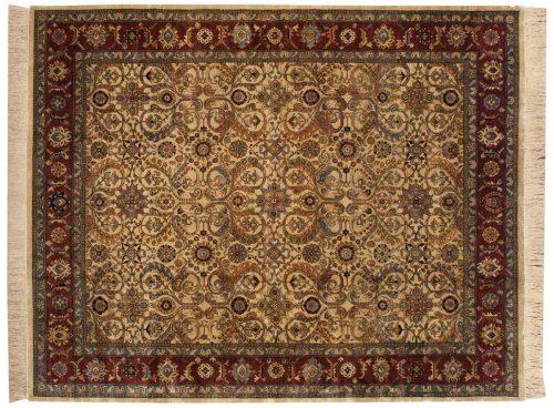 8×10 Baktiari Ivory Oriental Rug 032391