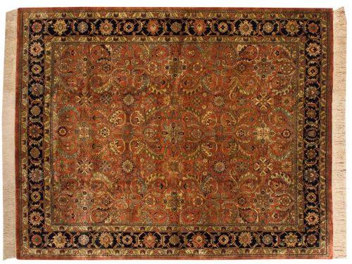 8×10 Baktiari Rust Oriental Rug 032392