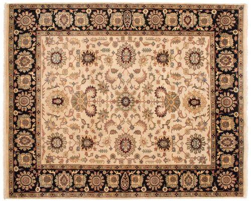 8×10 Jaipur Beige Oriental Rug 030211