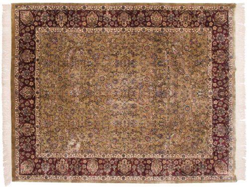 8×10 Tabriz Beige Oriental Rug 032416