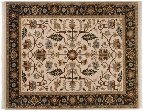 8×10 Mahal Beige Oriental Rug 045468