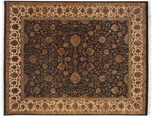 8×10 Kashan Blue Oriental Rug 020184