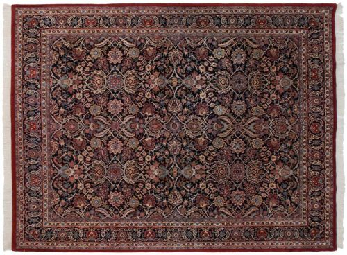 8×10 Isfahan Blue Oriental Rug 024796