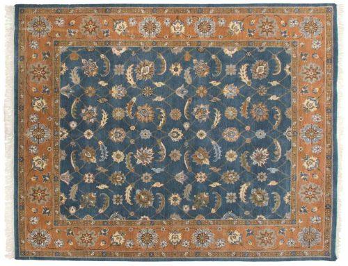 8×10 Tabriz Blue Oriental Rug 045966