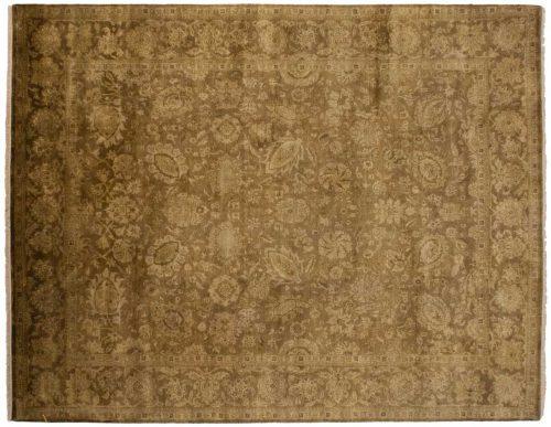 8×10 Oushak Brown Oriental Rug 023137