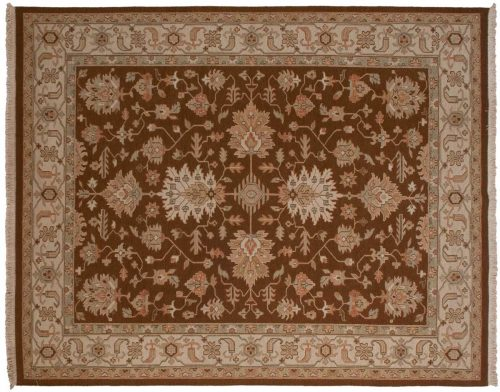 8×10 Mahal Brown Oriental Rug 042076