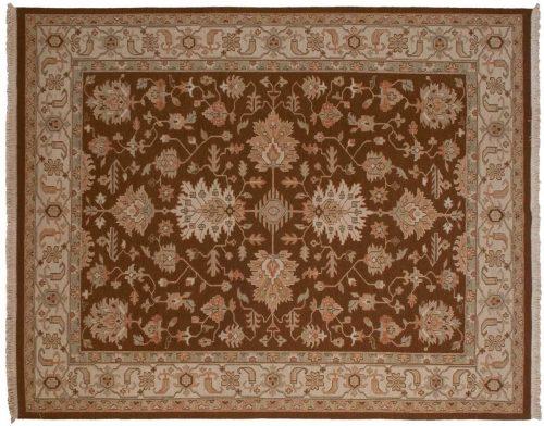 8×10 Mahal Brown Oriental Rug 042076