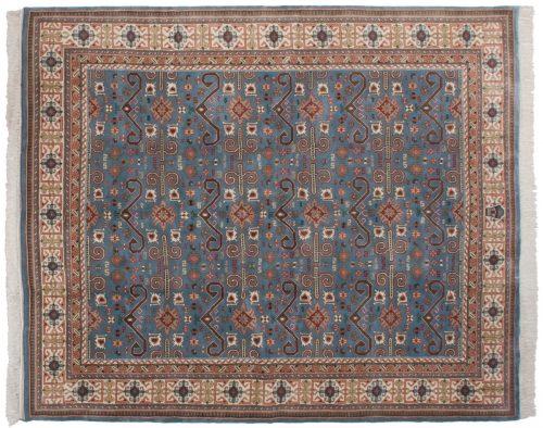 8×10 Caucasian Blue Oriental Rug 015400