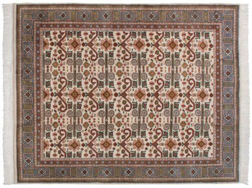 8×10 Caucasian Ivory Oriental Rug 014860