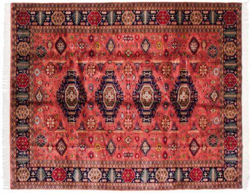 8×10 Caucasian Rose Oriental Rug 021640