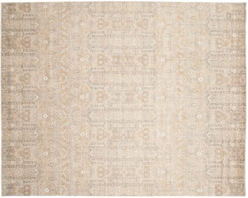 8×10 Chobi Silver Oriental Rug 048914