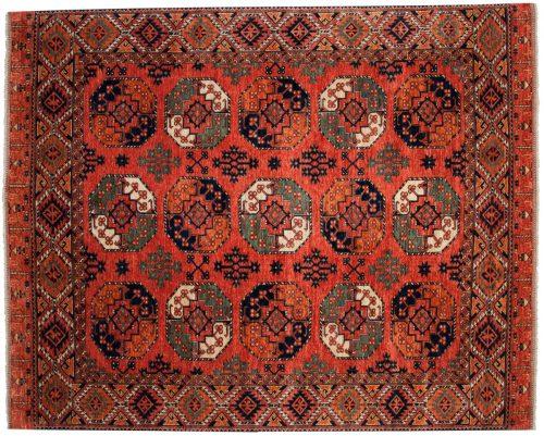 8×10 Ersari Rust Oriental Rug 048886