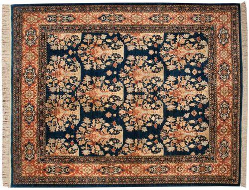 8×10 Feraghan Blue Oriental Rug 025905