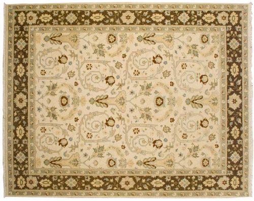 8×10 Heriz Ivory Oriental Rug 041538