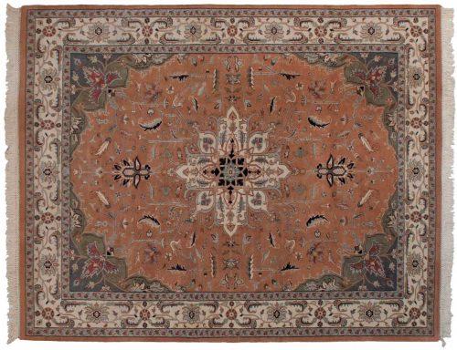 8×10 Heriz Peach Oriental Rug 024340