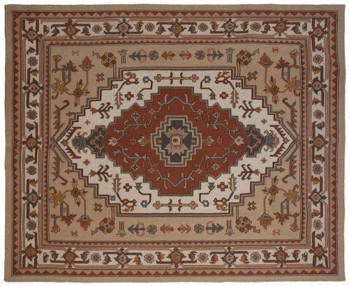 8×10 Serapi Ivory Oriental Rug 023577