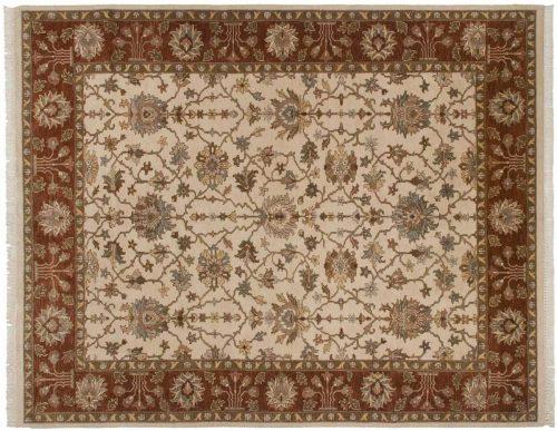 8×10 Agra Ivory Oriental Rug 045466